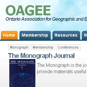 OAGEE Web Site