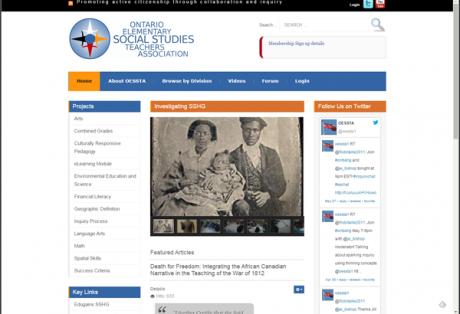 OESSTA 2014 Website