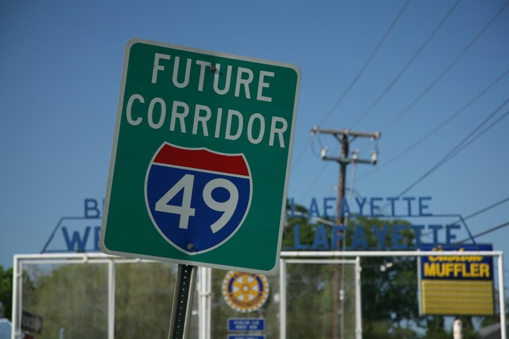 Future_corridor_I49_sign