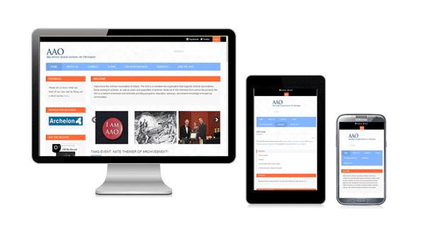 AAO responsive web design