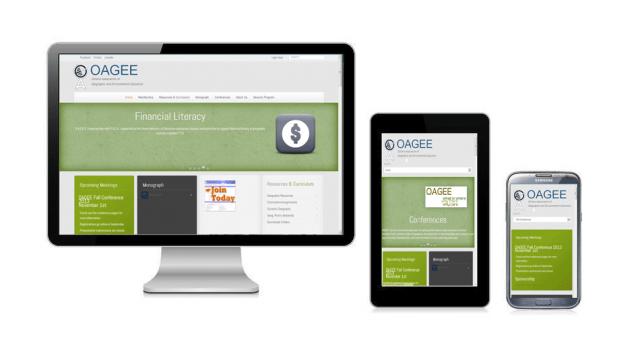 OAGEE's New Website
