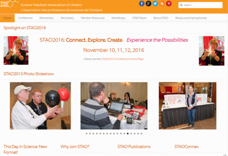 STAO 2015 Website