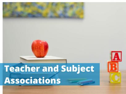 Teacher and Subject Associations
