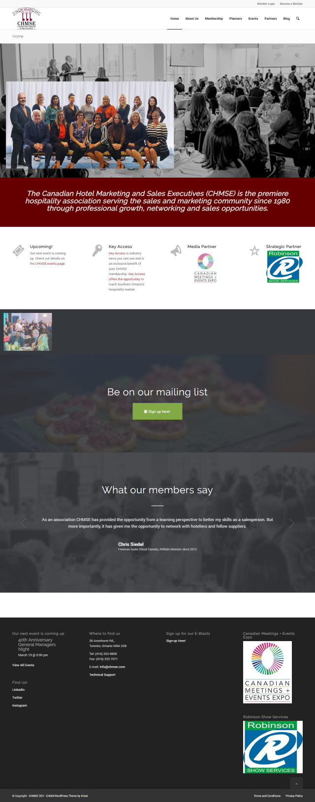 CHMSE Home Page